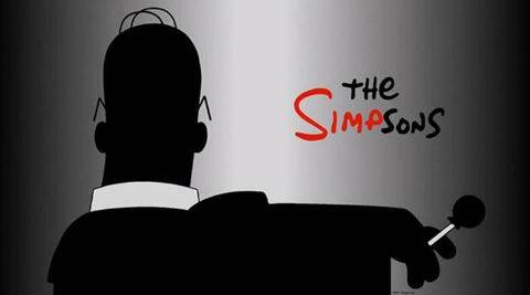 'The Simpsons' has parodied 'Mad Men's cryptic teasers in a new advertisement.