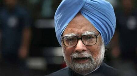 Manmohan Singh had not mentioned his wife's name in the affidavit submitted along with nomination he filed as a Rajya Sabha candidate, claimed BJP. (PTI)