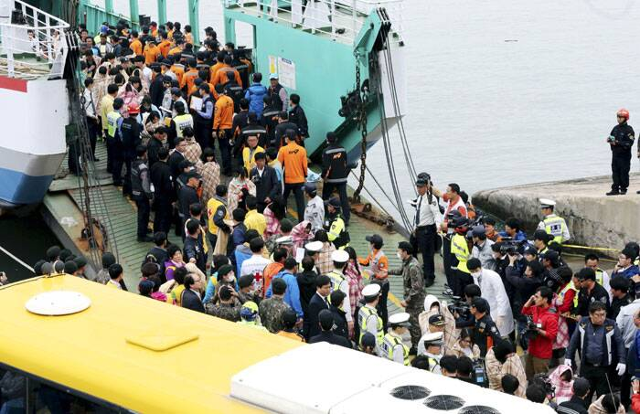 The Sewol, a 146-meter (480-foot) vessel that can reportedly hold more than 900 people, set sail Tuesday from Incheon, in northwestern South Korea, on an overnight, 14-hour journey to the tourist island of Jeju. (AP)