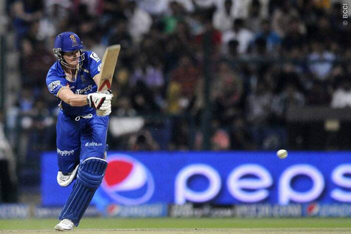 Steve Smith launched a late charge to help his team finish with 152/5 on board in their 20 overs. (Photo: BCCI/IPL)