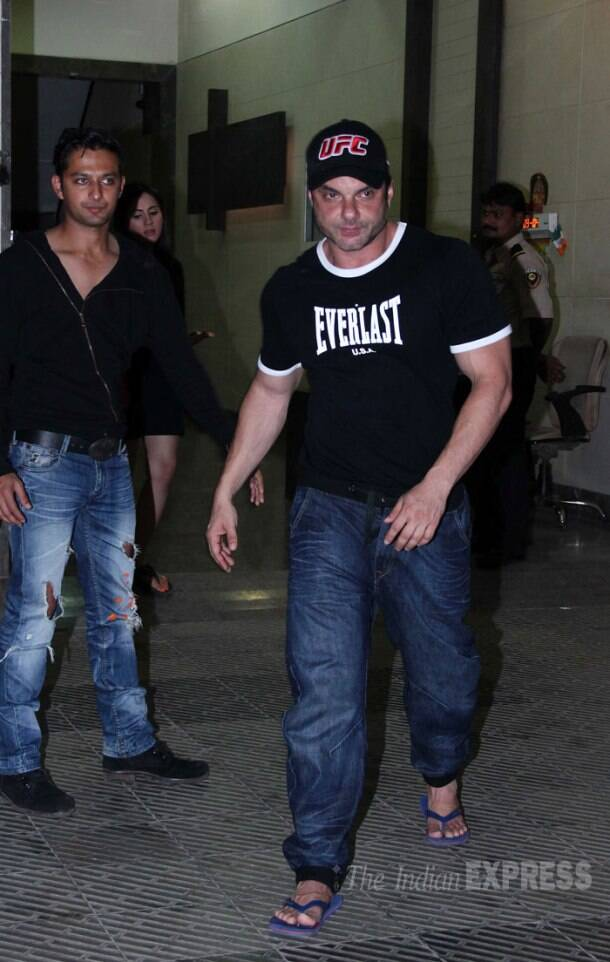 Varun Dhawan, Ekta Kapoor, Vaani Kapoor party with Huma Qureshi's brother Saqib