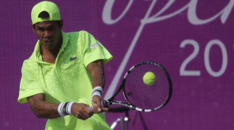 Devvarman may come up against Djokovic during India's World Group play-off tie in September. (IE Photo)
