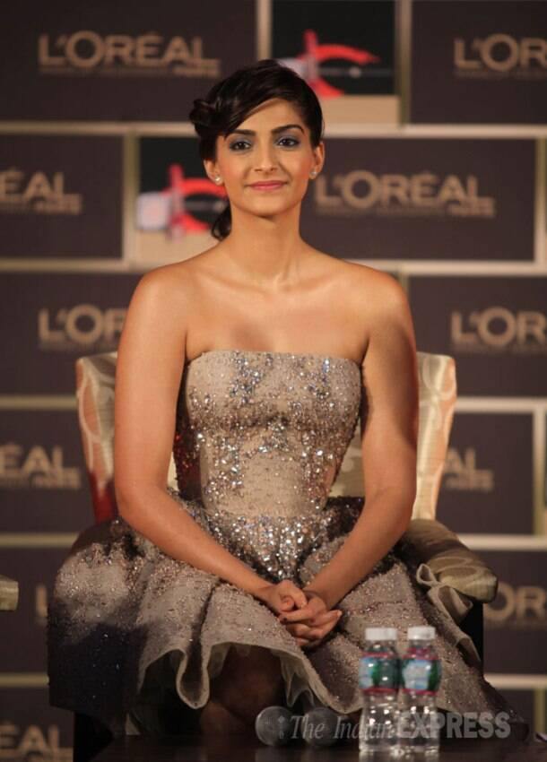 Golden girl Sonam Kapoor gears up for Cannes 2014