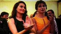 Shahid Kapoor's girls? Sonakshi Sinha, Priyanka Chopra bond at IIFA 2014