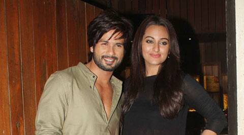 Reports suggesting Shahid and Sonakshi became close during the making of their last film have failed to die down.