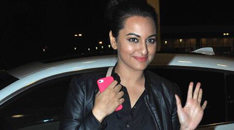 Sonakshi Sinha siad that she can't wait to begin shooting for the Rajinikanth-starrer in May.