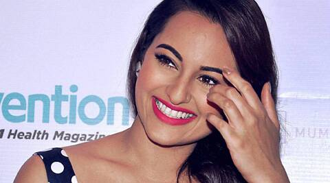 Sonakshi Sinha says she is happy being an actress and has no plans of entering politics.