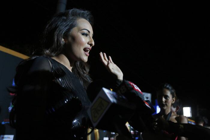 Sonakshi has a lot to share. (AP)