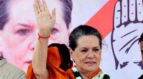 BJP is spreading all kinds of canards against us, said Sonia Gandhi.