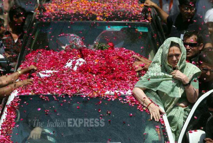 Sonia Gandhi files nomination from Rae Bareli Lok Sabha seat