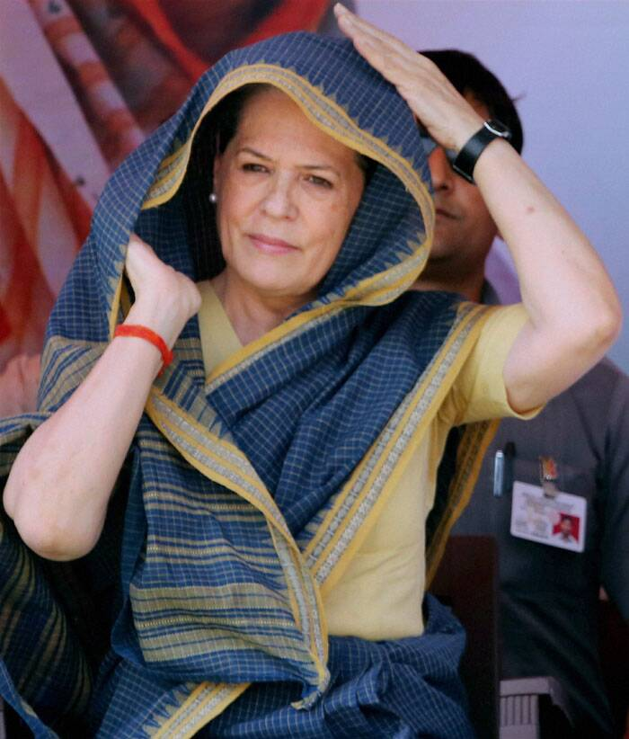 """The country has many serious issues to deal with,"" Sonia Gandhi said. Apparently referring to Modi criticising the Congress on corruption, Gandhi said it was a serious issue and if any party had taken steps to curb it than it was the Congress. (PTI)"