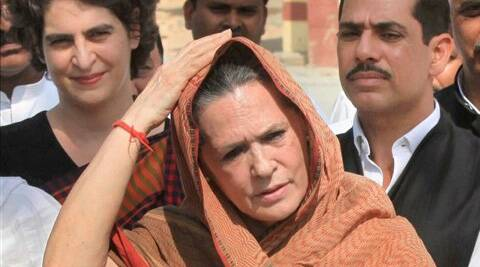 Sonia Gandhi asked people to choose path of progress and shun the one propagated by BJP where only caste and religious identity will matter.