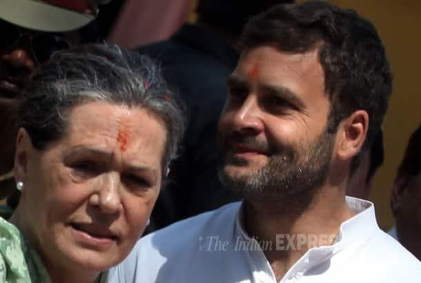 Sonia Gandhi files nomination from Rae Bareli Lok Sabha seat