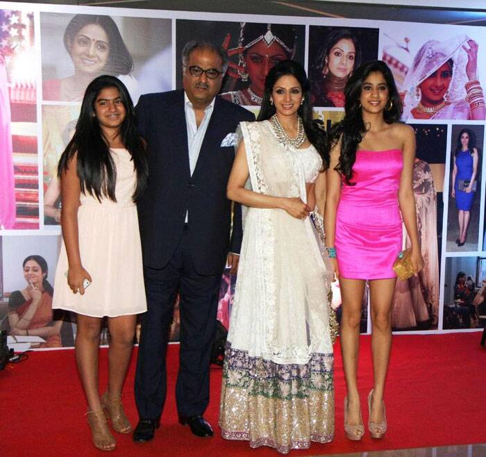 <b>Sridevi- Boney Kapoor</b>: Tamilian Sridevi tied the knot with her 'Roop Ki Rani Choron Ka Raja' director Boney Kapoor, who was already married with two children. Boney is a Punjabi. The couple has two daughters - Jhanvi and Khushi.