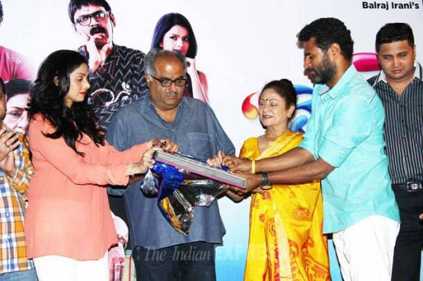 Sridevi, Prabhu Dheva's musical night out