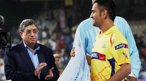 SC will hear BCCI's plea seeking audio transcripts of Indian captain MS Dhoni and N Srinivasan on April 16. (PTI File)