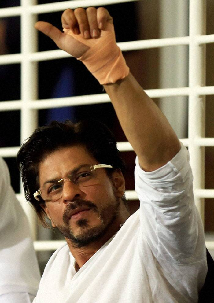"Bollywood superstar and owner of Kolkata Knight Riders Shah Rukh Khan was an angry man last night as his team lost to Rajasthan Royals in a Super Over finish in a fifth round encounter of the Indian Premier League. <br /><br /> SRK, who had a bandage in his left hand, tweeted: ""WTF !!! Actually with all due respect to all on twitter..What the f@&k!!!!"" (PTI)"