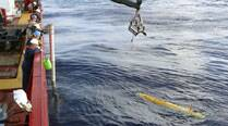 Robotic submarine suspends mission to locate missing plane