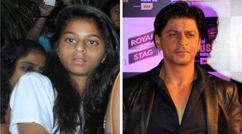The most beautiful girl is none other than Shah Rukh's teenage daughter, Suhana.