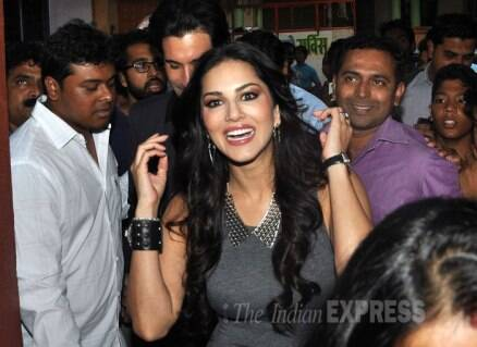 Covergirl Sunny Leone glows in grey