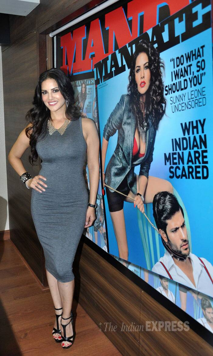 Sunny Leone actress is riding high on the success of her last film, 'Ragini MMS 2'. (Photo: Varinder Chawla)