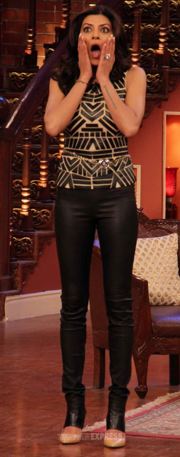 Sushmita Sen has some fun on 'Comedy Nights With Kapil'