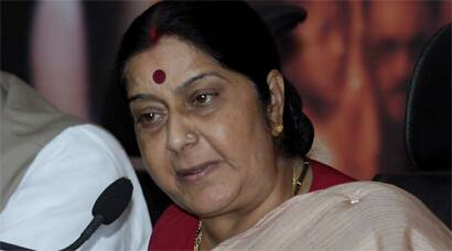 Sushma Swaraj publicly scolded Pawaiya who was present at the spot, over the treatment meted out to her at Shivpuri.
