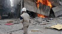 Mortar shells hit near Syrian parliament, kill 5