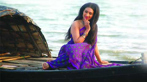 Rituparna Sengupta in a still from Taan
