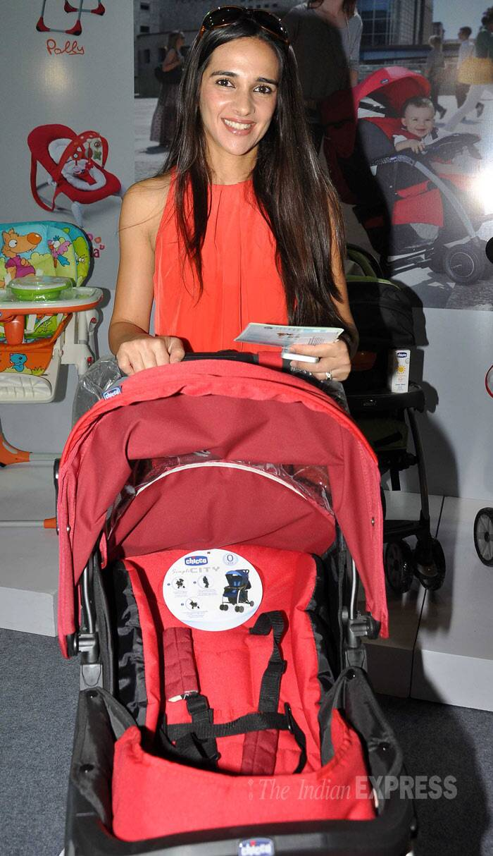 Meanwhile, actress Tara Sharma visited a baby care store in Mumbai. (Photo: Varinder Chawla)