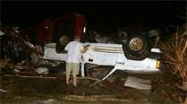 Tornadoes strike central, southern US, killing 12