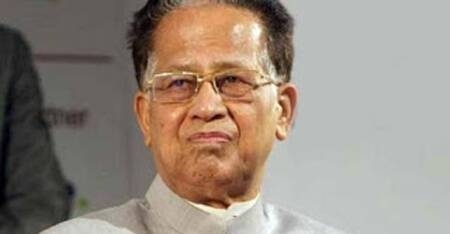 Tarun Gogoi on Sunday demanded Bharat Ratna for Jashodaben, wife of Narendra Modi, calling her 'a symbol of sacrifice and pain'.