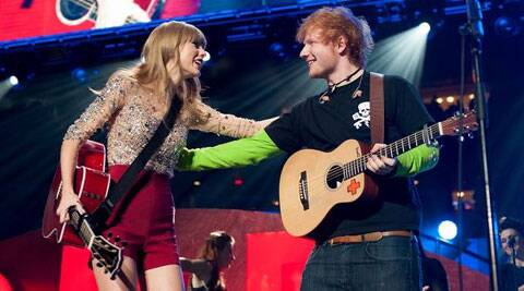 New Song Is Not About Taylor Swift Ed Sheeran Entertainment News The Indian Express