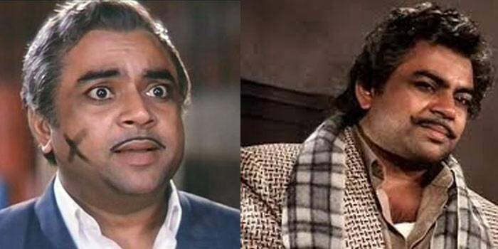 <b>Teja aka Shyam Gopal Bajaj/Ram Gopal Bajaj</b>: Actor Paresh Rawal was praised for his performance in the film as the crazy villain Teja and his twin-brother the wealthy Ram Gopal Bajaj. 'Teja mark yahan hai' still leaves you in splits.