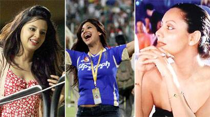 IPL 6 flashback: Sakshi Dhoni, Gauri Khan, Shilpa Shetty beauties on ground
