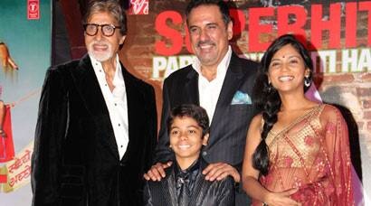 Boman Irani, Parth 'Party With Bhoothnath' Amitabh Bachchan