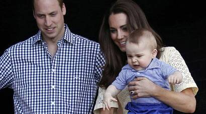 Prince George visits Australian zoo with parents Kate and Prince William