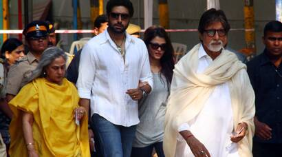 Big B, Aishwarya Rai, Abhishek Bachchan cast their vote