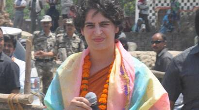 Elections 2014: Priyanka Vadra campaigns for brother Rahul Gandhi in Amethi