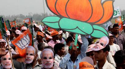 Elections 2014: 'Modi for PM' chants in Siliguri
