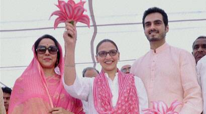 Bollywood stars battle it out in heat and dust of elections
