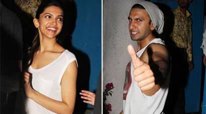 Rumoured lovers Deepika Padukone, Ranveer Singh's Sunday dinner date