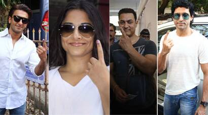 PICS: Aamir, Vidya, Sonam, Ranveer among other Bollywood celebs cast their vote