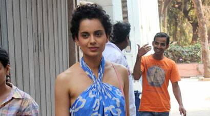 'Revolver Rani' Kangana Ranuat is breezy in blue