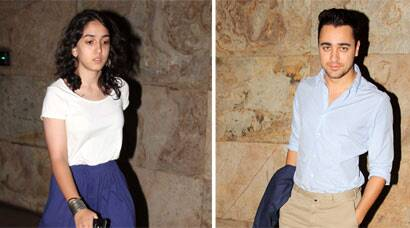 PHOTOS: Aamir Khan's daughter Ira's movie date with cousin Imran
