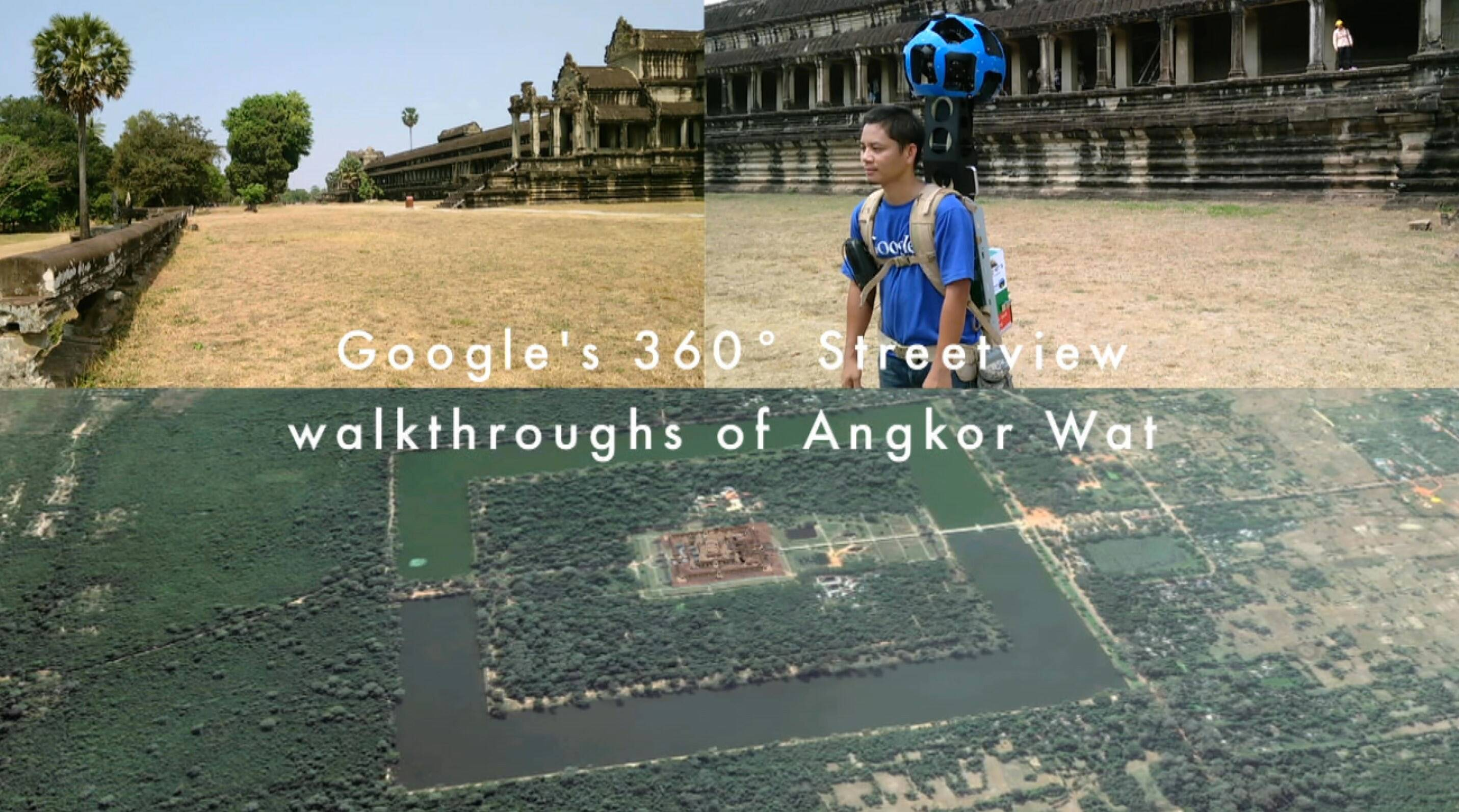 Google launches Streetview of Angkor Wat monuments