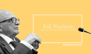 Fali Nariman on LK Advani being a more suitable candidate than Modi