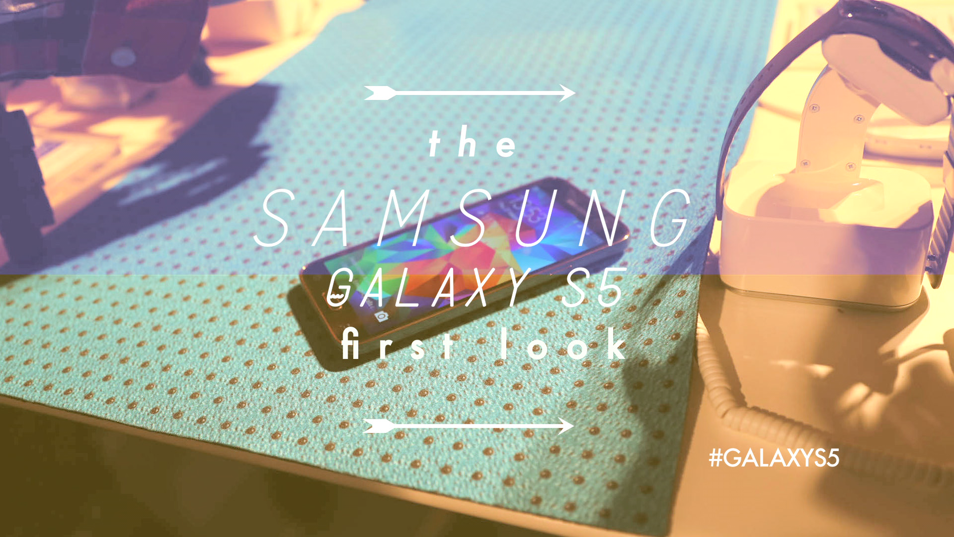The Samsung Galaxy S5 First Look