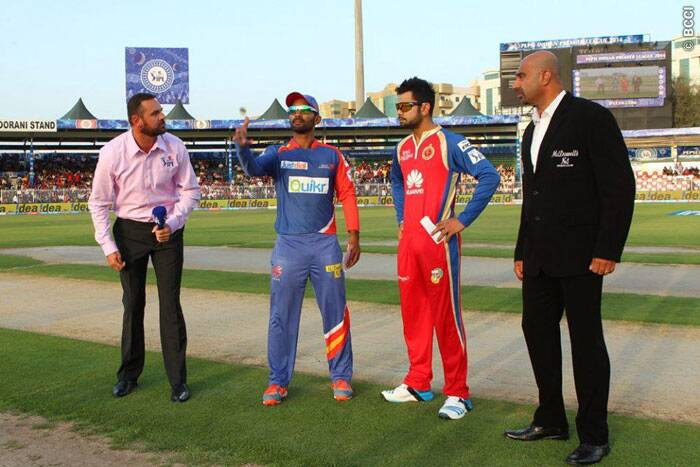 At the toss, Virat Kohli, with no hesitation, asked Delhi Daredevils to bat. The skipper was not let down by his bowlers, who put DD under the pump early (Photo: BCCI/IPL)