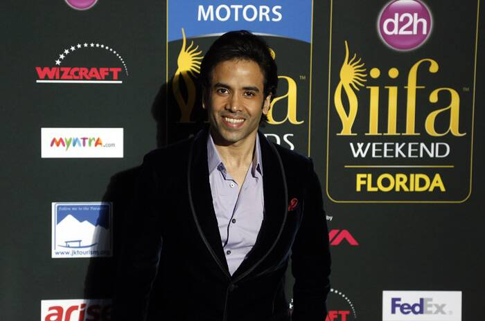 'Golmaal' actor Tusshar Kapoor is all smiles. (AP)